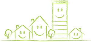 Smiley House illustration